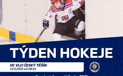 Pojď hrát hokej v září opět v Těšíně!