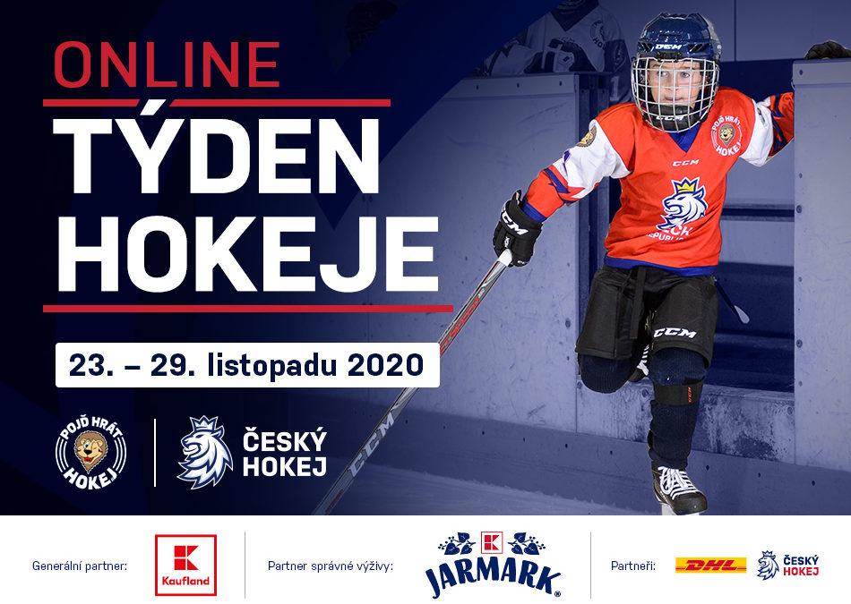 Listopadový Týden hokeje nahradí online aktivity na sociálních sítích projektu Pojď hrát hokej