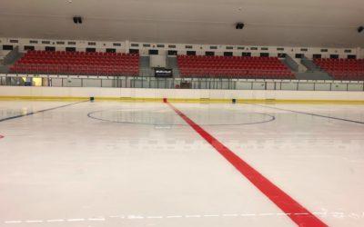 Ledová plocha rozpuštěna